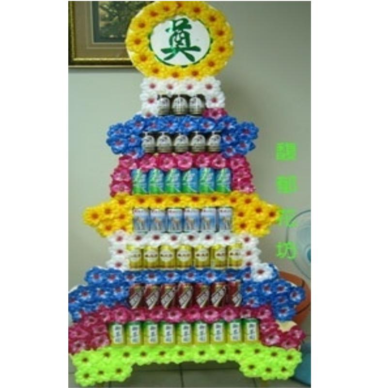 七層飲料罐頭(平面式)