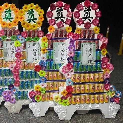七層飲料平面罐頭塔(混搭B)