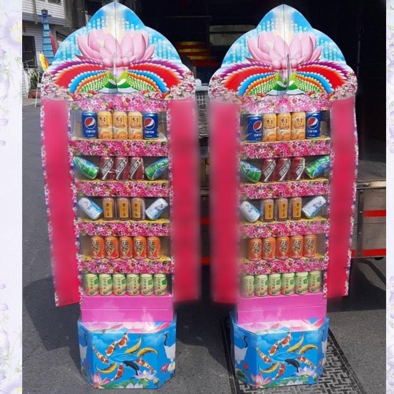 5層飲料罐頭塔